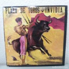 Discos de vinilo: PLAZA DE TOROS - INVIDIA - (OLE VERSION). Lote 142843550