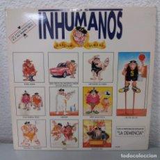Discos de vinilo: LOS INHUMANOS . GRABADO EN DIRECTO - DIRECTUM TREMENS - DOBLE LP. Lote 142843766