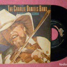Discos de vinilo: CHARLIE DANIELS BAND EL DIABLO BAJO A GEOGIA SINGLE SPAIN PRESS (VG++/VG++) T . Lote 142850802