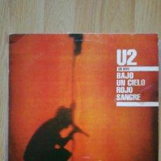 Discos de vinilo: U2 VINILO ARGENTINA BAJO UN CIELO ROJO SANGRE MINI LP RARO NO PROMO CD. Lote 142859182