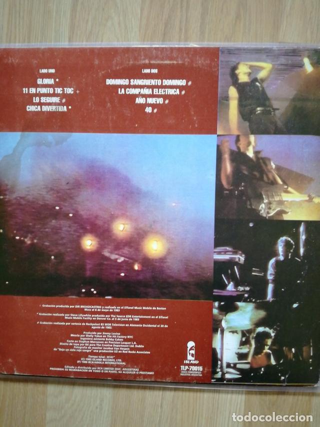 Discos de vinilo: U2 VINILO ARGENTINA BAJO UN CIELO ROJO SANGRE MINI LP RARO NO PROMO CD - Foto 2 - 142859182