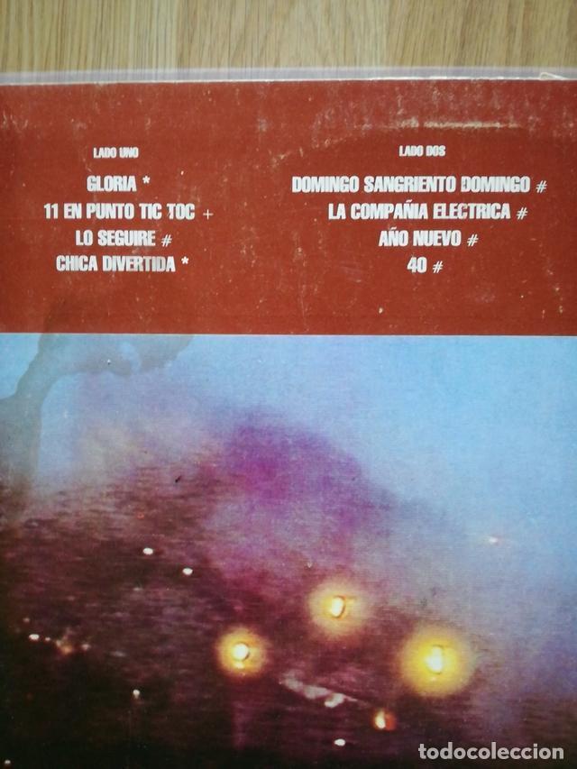 Discos de vinilo: U2 VINILO ARGENTINA BAJO UN CIELO ROJO SANGRE MINI LP RARO NO PROMO CD - Foto 3 - 142859182