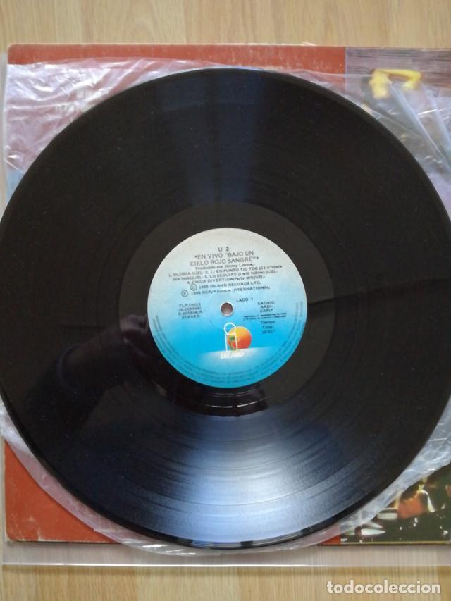 Discos de vinilo: U2 VINILO ARGENTINA BAJO UN CIELO ROJO SANGRE MINI LP RARO NO PROMO CD - Foto 4 - 142859182