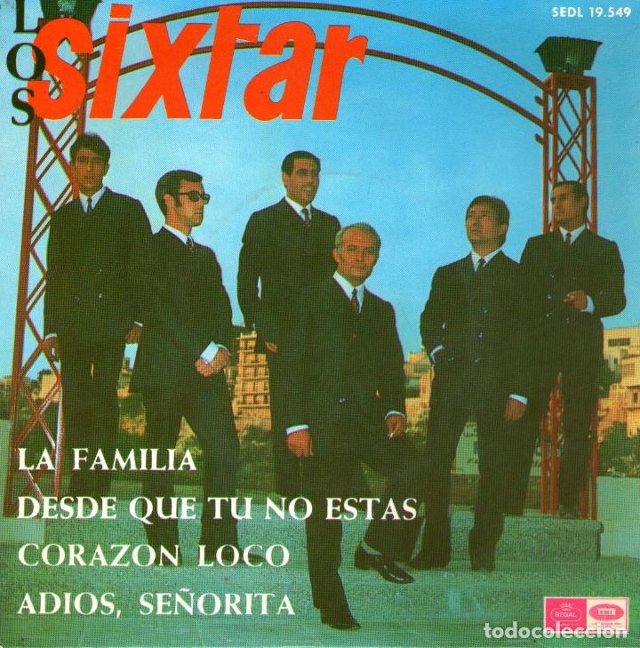 LOS SIXTAR - EP VINILO 7'' - LA FAMILIA + 3 - REGAL 1967 (Música - Discos de Vinilo - EPs - Grupos Españoles 50 y 60)
