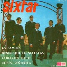 Discos de vinilo: LOS SIXTAR - EP VINILO 7'' - LA FAMILIA + 3 - REGAL 1967. Lote 142862750
