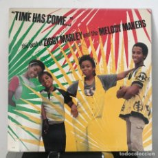 Discos de vinilo: ZIGGY MARLEY AND THE MELODY MAKERS TIME HAS COME.....THE BEST OF _US_1988. Lote 142878322