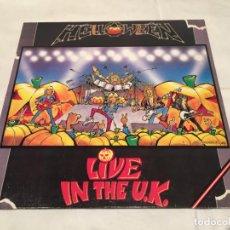 Discos de vinilo: HELLOWEEN -LIVE IN THE U.K.- (1989) LP DISCO VINILO. Lote 142882826