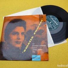 Discos de vinilo: LP 10 PULGADAS AMÁLIA RODRIGUES – AMALIA ENCORES (M-/VG++) TOP COPY FRANCE 1957 VINYL Ç. Lote 142897450