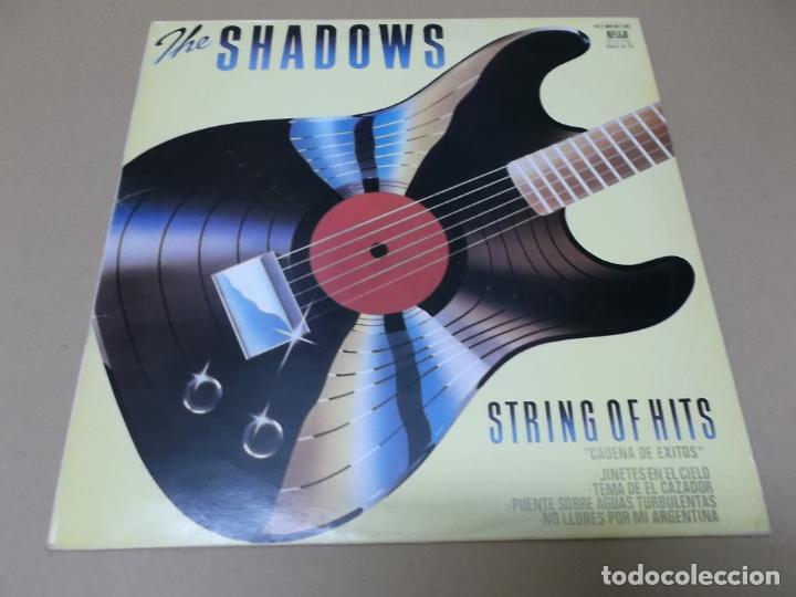 THE SHADOWS (LP) STRING OF HITS AÑO 1979 – EDICION PROMOCIONAL (Música - Discos - LP Vinilo - Pop - Rock - Extranjero de los 70)