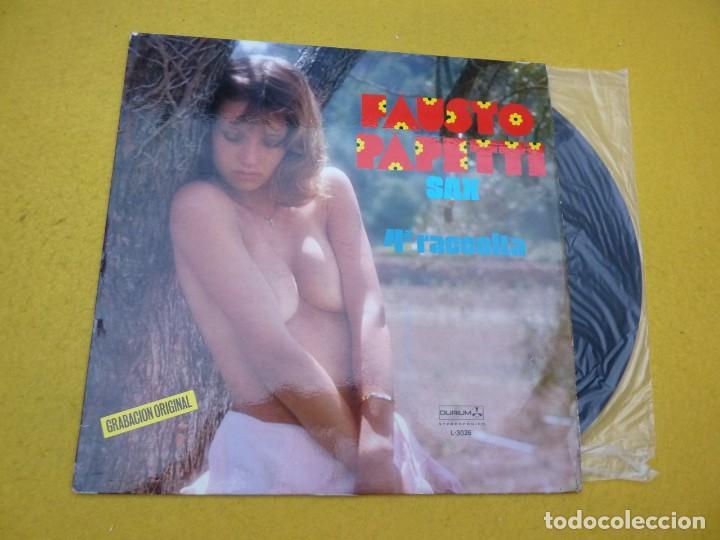 LP FAUSTO PAPETTI SAX 4ª RACCOLTA (EX+/EX+) 1979 SPANISH NUDE COVER VINYL Ç (Música - Discos - LP Vinilo - Orquestas)