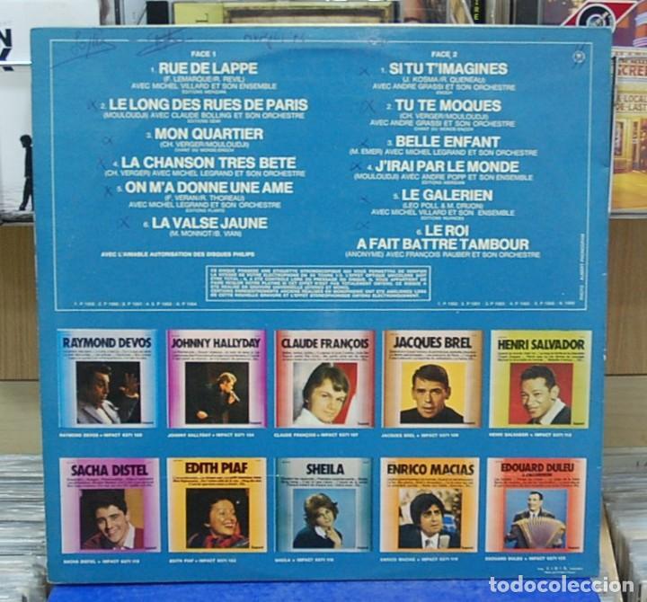 Discos de vinilo: Mouloudji. Ref. 6371 105. LP editado en Francia - Foto 2 - 142901078