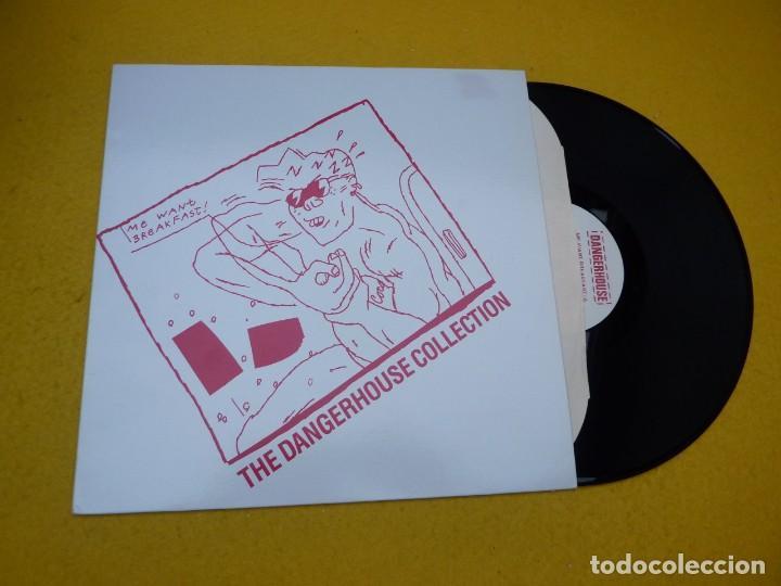 LP ME WANT BREAKFAST-THE DANGERHOUSE COLLECTION (M-/M-) WEIRDOS RANDOMS VINYL Ç (Música - Discos - LP Vinilo - Punk - Hard Core)