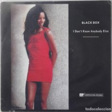 Disques de vinyle: BLACK BOX: I DON'T KNOW ANYBODY ELSE. Lote 142903850