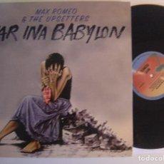Discos de vinilo: MAX ROMEO & THE UPSETTERS – WAR INA BABYLON - LP REEDICION . Lote 142908974