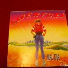 Discos de vinilo: LAVENTURA -- MAL DIA, / MAL DIA, PROMO, CON CARTA DE PRESENTACION, VIRGIN, 1991.. Lote 142910346