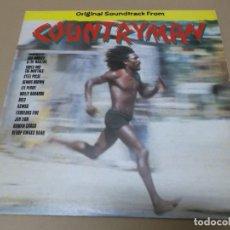Discos de vinilo: TOOTS & THE MAYTALS, LEE PERRY, JAH LION, WALLY BADAROU, BOB MARLEY (LP) COUNTRYMAN AÑO 1982 – DOBLE. Lote 142910998