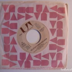 Discos de vinilo: ED BRUCE - THE LITTLEST COWBOY RIDES AGAIN / THE FEEL - SINGLE USA 1976 - UA. Lote 142914662