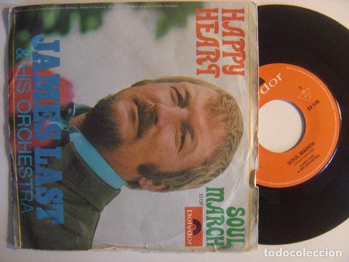 JAMES LAST SOUL MARCH - SINGLE ALEMAN - 1969 - POLYDOR (Música - Discos - Singles Vinilo - Funk, Soul y Black Music)