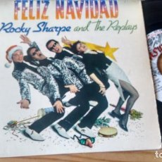 Discos de vinilo: E P (VINILO) -PROMOCION DE ROCKLY SHARPE & THE REPLAYS AÑOS 80. Lote 142941738