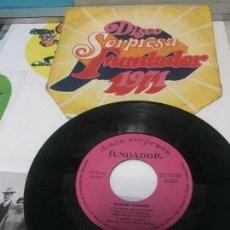 Discos de vinilo: DISCO SORPRESA FUNDADOR 10.176 MIGUEL RAMOS CUANDO ME ENAMORO / MONY MONY / HEY JUDE. Lote 142943710
