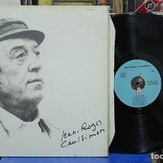 Discos de vinilo: JEAN-ROGER CAUSSIMON. REF, SH 10.056. LP EDICIÓN FRANCESA. Lote 142943910