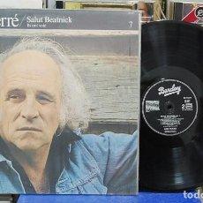 Discos de vinilo: LÉO FERRÉ. SALUT BEATNICK, VOL 7. BARCLAY 1967, REF. 90 307. LP. Lote 142944266