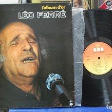 Discos de vinilo: L'ALBUM D'OR, LÉO FERRÉ. CBS 1968, REF. CBS 63389. LP. Lote 142944486