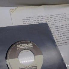 Discos de vinilo: SINGLE (VINILO)-PROMOCION- DE PERNIL LATINO AÑOS 80 + HOJA PROMOCION. Lote 142944646