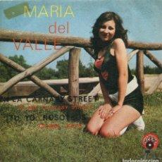 Discos de vinilo: MARIA DEL VALLE / EN LA CARNABY STREET / TU, YO...NSOTROS (SINGLE 1971). Lote 142947350