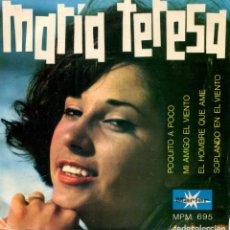 Discos de vinilo: MARIA TERESA / SOPLANDO EN EL VIENTO (DYLAN) + 3 (EP 1967). Lote 142947554