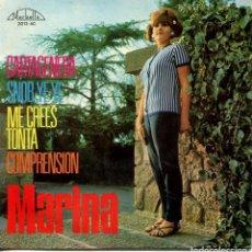 Discos de vinilo: MARINA / SNOB YE YE / COMPRENSION + 2 (EP 1965). Lote 142948362