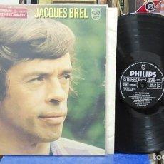 Discos de vinilo: JACQUES BREL. PHILIPS, REF. 6683027. LP DOBLE. Lote 142949038