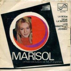 Discos de vinilo: MARISOL (LAS CUATRO BODAS DE MARISOL) LA BODA + 3 (EP PROMO 1967). Lote 142949502