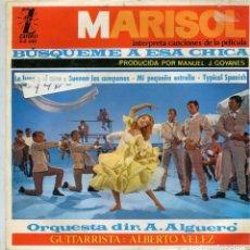 Discos de vinilo: MARISOL (BUSQUEME A ESA CHICA) LA LUNA Y EL TORO + 3 (EP 1964). Lote 142949690