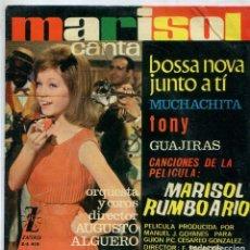 Discos de vinilo: MARISOL (MARISOL RUMBO A RIO) MUCHACHITA + 3 (EP 1963). Lote 142949846