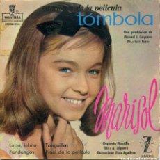 Discos de vinilo: MARISOL (TOMBOLA) LOBO, LOBITO + 3 (EP 1962). Lote 142950046