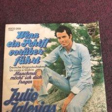 Discos de vinilo: JULIO IGLESIAS EN ALEMÁN SELLO PHILIPS. Lote 142953936