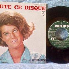Discos de vinilo: SHEILA - ECOUTE CE DISQUE + 3 - PHILIPS MEDIUM 434.954 BE - EDICION FRANCESA EN EXCELENTE ESTADO. Lote 142954266