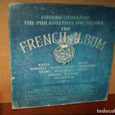 Discos de vinilo: THE FRENCH ALBUM - PHILADELPHIA ORCHESTRA - DIRIGE EUGENE ORMANDY - BOX 3 LP CAJA USADA. Lote 142954926