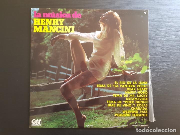 HENRY MANCINI - LA MÚSICA DE - LP VINILO - GRAMUSIC - 1973 (Música - Discos - LP Vinilo - Clásica, Ópera, Zarzuela y Marchas)