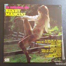 Discos de vinilo: HENRY MANCINI - LA MÚSICA DE - LP VINILO - GRAMUSIC - 1973. Lote 142960002