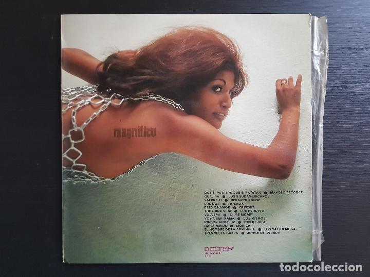 MAGNÍFICO - LP VINILO - BELTER - 1972 (Música - Discos - Singles Vinilo - Grupos Españoles de los 70 y 80)