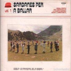 Discos de vinilo: SARDANES PER A BALLAR VOL.1 - BONA FESTA/ ELS DEGOTALLS...LP DIAMANTE DE 1985 ,RF-6917. Lote 142968018