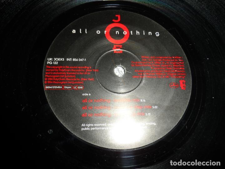 Discos de vinilo: Joe ?– All Or Nothing - Foto 3 - 142973470