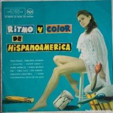Discos de vinilo: RITMO Y COLOR DE HISPANOAMÉRICA. Lote 142978910