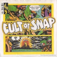 Discos de vinilo: SNAP! – MARY HAD A LITTLE BOY - SINGLE SPAIN 1990. Lote 142978962