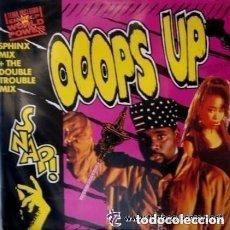 Discos de vinilo: SNAP, OOOPS UP (SPHINX MIX ) - MAXI-SINGLE SPAIN 1990. Lote 142979182