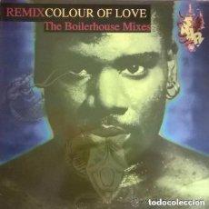 Discos de vinilo: SNAP!– COLOUR OF LOVE (REMIX) (THE BOILERHOUSE MIXES) MAXI-SINGLE SPAIN 1992. Lote 142979890