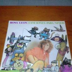 Disques de vinyle: ROSA LEON CANCIONES PARA NIÑOS. C8V. Lote 142986146
