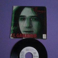 Discos de vinilo: SINGLE PROMOCIONAL.ROSENDO. RCA PB 7885. AÑO 1986 EL GANADOR/ FUERA DE LUGAR LEÑO ÑU ROCK URBANO. Lote 142999818